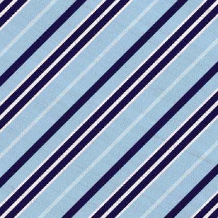 Southern Stripe Beau Light Blue